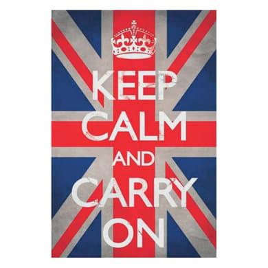 Poster Keep calm Union Jack 61x91.5 cm