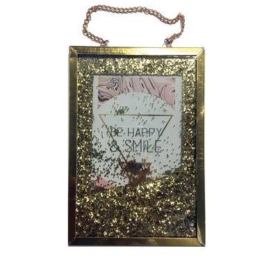 Cornice Glitter per 1 fotografie 10 x 15  oro