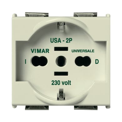 Presa VIMAR 8000 16 A bianco