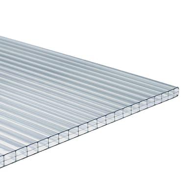 Lastra di policarbonato alveolare ONDULINE Onduclair PCMW in policarbonato H 98 x L 300 cm, Sp 10 mm