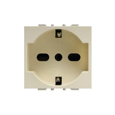 Presa universale FEB Click-Laser 16 A bianco