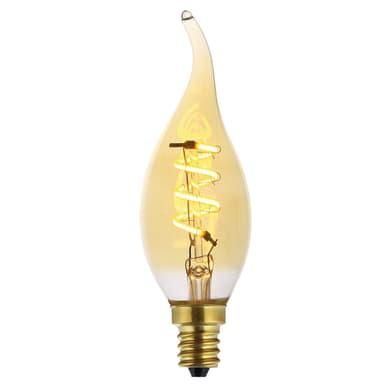 Lampadina decorativa LED ambrato E14 4W = 140LM (equiv 20W) 360°