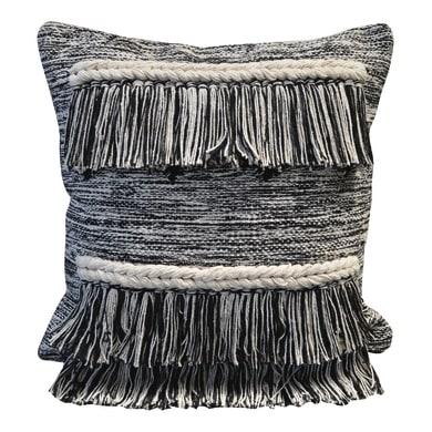 Cuscino INSPIRE Etnico bianco e nero 45x45 cm
