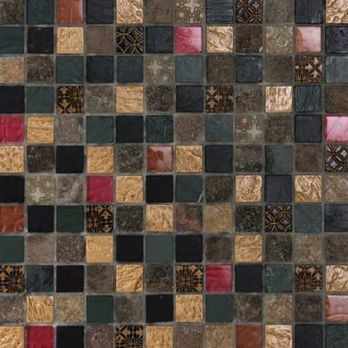 Mosaico Patchwork H 30 x L 30 cm multicolore