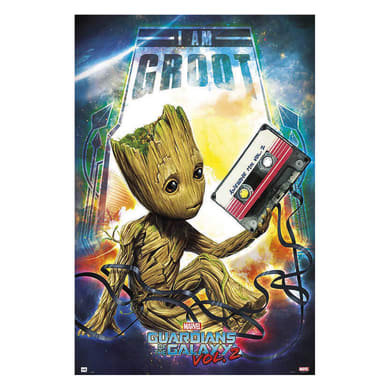 Poster Guardians Groot 61x91.5 cm
