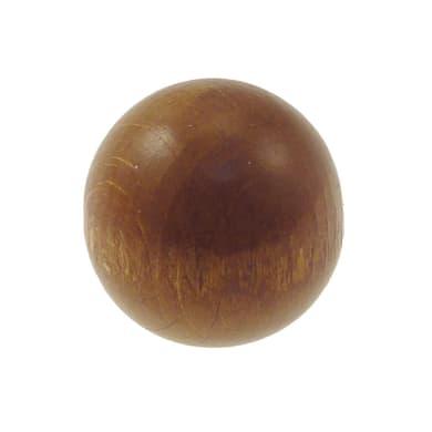 Finale per bastone Ø11mm Zip pomolo in legno verniciato Set di 2 pezzi