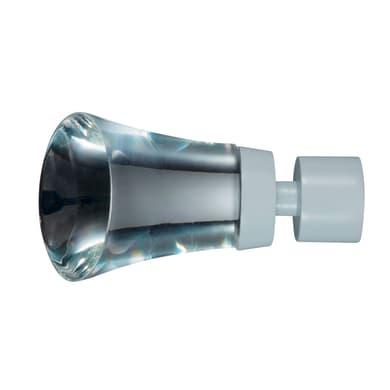 Finale per bastone Ø20mm Nilo cono in vetro lucido INSPIRE Set di 2 pezzi