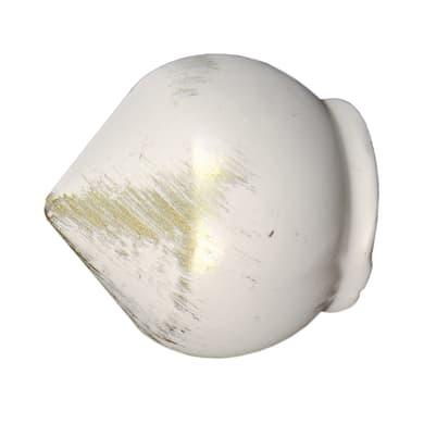 Finale per bastone Ø20mm Nuvole sfera in metallo verniciato INSPIRE Set di 2 pezzi