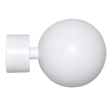 Finale per bastone Ø28mm Iceberg sfera in metallo verniciato INSPIRE Set di 2 pezzi