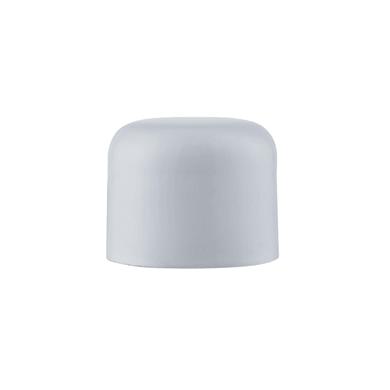 Finale per bastone Ø20mm Nilo tappo in acciaio bianco lucido INSPIRE Set di 2 pezzi