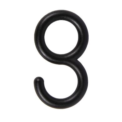 Anelli Jolly in metallo nero , 4 pezzi