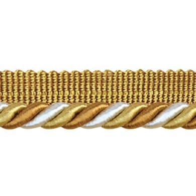 Cordone bianco, oro Ø 0.8 cm