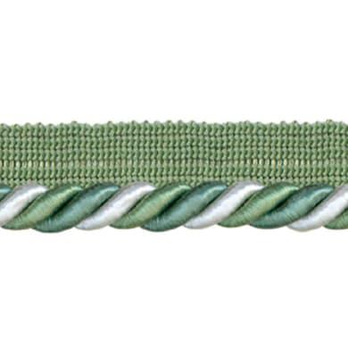 Cordone bianco, verde Ø 0.8 cm