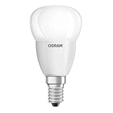 Lampadina LED, E14, Sferico, Opaco, Luce naturale, 5W=470LM (equiv 40 W), 200° , OSRAM
