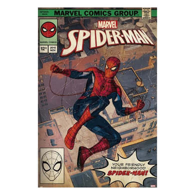 Poster Spider-Man by Marvel - Comic Front 61x91.5 cm