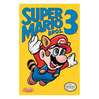 Poster Super Mario III 61x91.5 cm