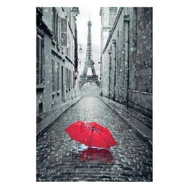 Poster Paris ombrello red 61x91.5 cm