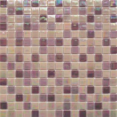 Mosaico Reflex mix H 32.7 x L 32.7 cm viola