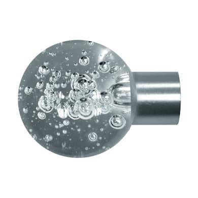 Finale per bastone Ø20mm Danau sfera in metallo cromo INSPIRE