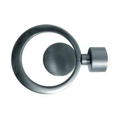 Finale per bastone Ø20mm Danau cerchio in metallo satinato INSPIRE