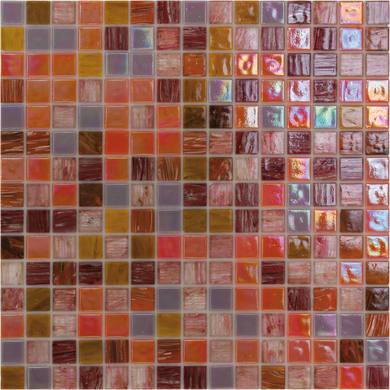 Mosaico Patchwork H 32.7 x L 32.7 cm arancione, marrone