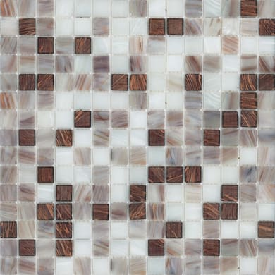 Mosaico Mix H 32.7 x L 32.7 cm viola