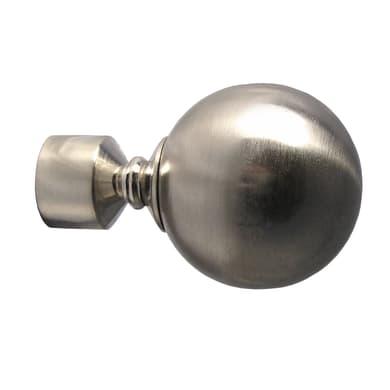 Kit bastone per tenda Palla in metallo Ø 19 mm argento
