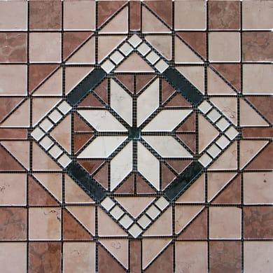 Piastrella decorativa Milano H 60 x L 60 cm multicolore