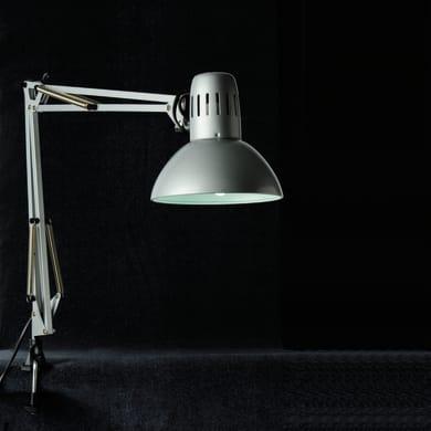 Lampada da scrivania Vintage Arquitecto grigio , in metallo, INSPIRE