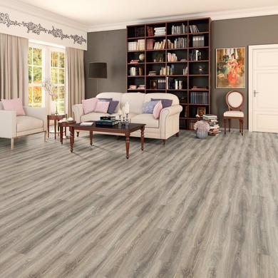 Pavimento laminato Coligny Sp 10 mm grigio / argento