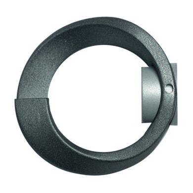 Finale per bastone Ø20mm Meteorite cerchio. in metallo verniciato INSPIRE