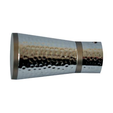 Finale per bastone Ø20mm Nilo cono in metallo verniciato INSPIRE