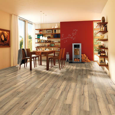 Pavimento laminato Orito Sp 10 mm marrone