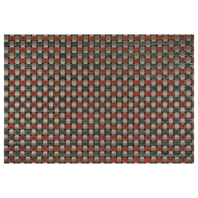 Passatoia Industry grigio e rosso 50x20 cm