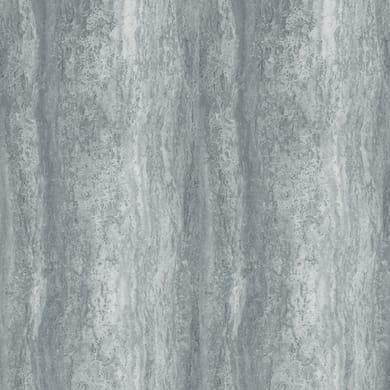 Pellicola Plastica adesiva grigio / argento 0.45x3 m