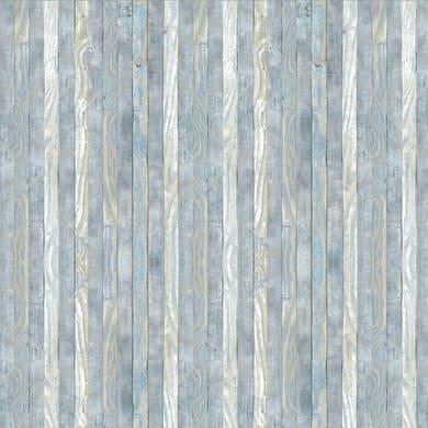 Pellicola Listelli grigio / argento 0.45x2 m