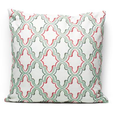 Fodera per cuscino Aida verde 60x60 cm