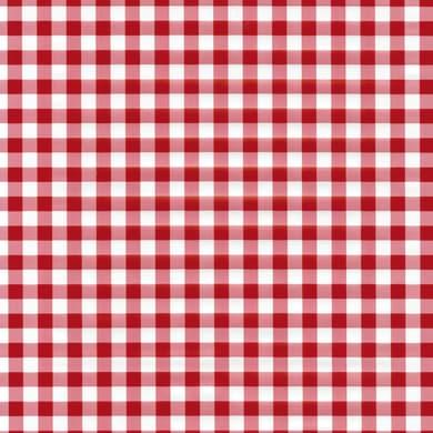 Pellicola Vichy bianco e rosso 0.45x2 m