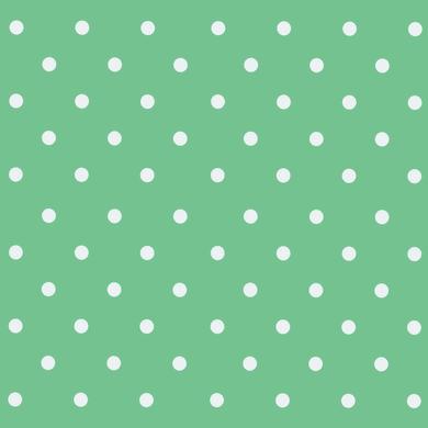 Pellicola Pois verde 0.45x2 m