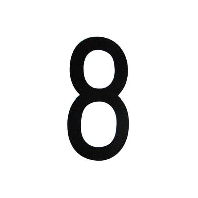 Numero 8 adesivo, 8 x 5 cm