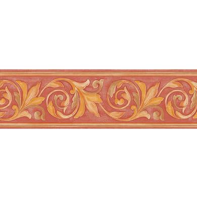 Bordo Ramo giglio rosso 13.2 cm x 5 m