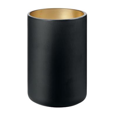 Bicchiere porta spazzolini Glass in vetro nero