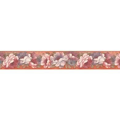 Bordo Peonia rosa 6.6 cm x 5 m