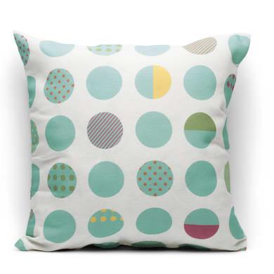 Fodera per cuscino Circle multicolor 40x40 cm