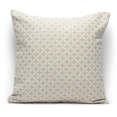 Fodera per cuscino INSPIRE Cruz beige 40x40 cm