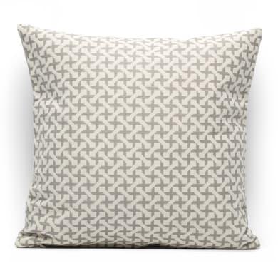 Fodera per cuscino INSPIRE Cruz grigio 40x40 cm