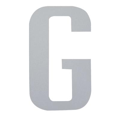 Lettera G adesivo, 7.5 x 5 cm