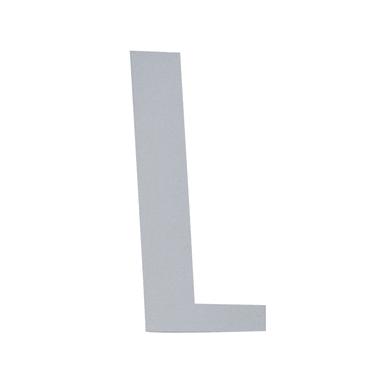 Lettera L adesivo, 10 x 6 cm