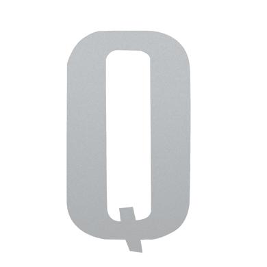 Lettera Q adesivo, 15 x 10 cm