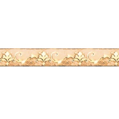 Bordo Giglio beige 9.5 cm x 5 m